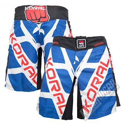 Koral Thunder Fightshort Blue-White