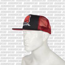 Koral Trucker Helmet Fekete-Piros