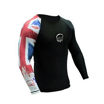 Koral United Kingdom Country Rashguard Fekete