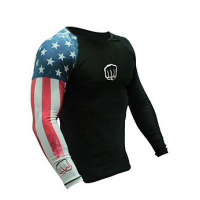 Koral United States Country Rashguard Nero
