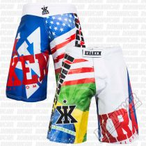 Kraken SFX Series X4U Fight Shorts Branco