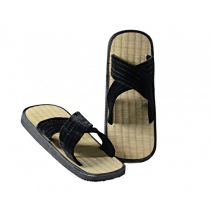 Kwon Zoris Asiatic Rice-straw Sandals Schwarz