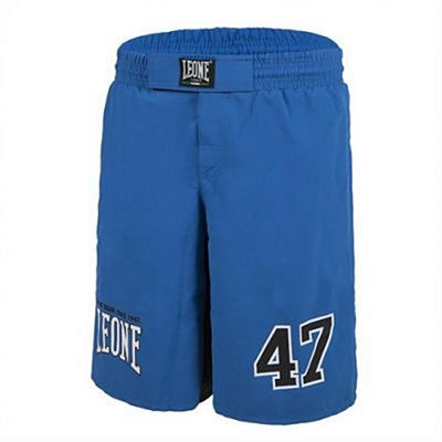 Leone 1947 47 MMA Shorts Elasticated Waist Blue