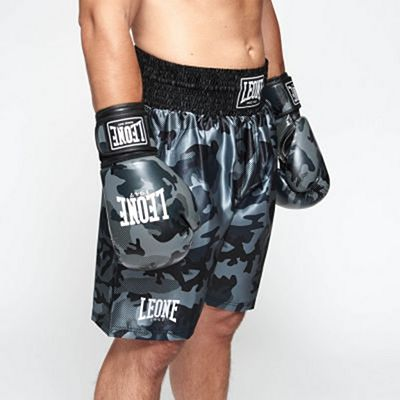 Leone 1947 AB221 Camo Boxing Shorts Grey-Camo