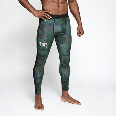 Leone 1947 AB953 Camo Sport Tights Green