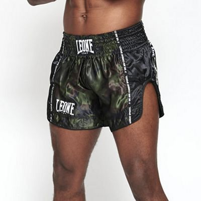 Leone 1947 AB961 Camo Thai Shorts Green-Camo