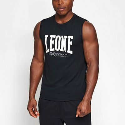 Leone 1947 ABX103 Logo Sleeveless T-shirt Black