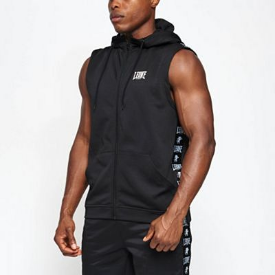 Leone 1947 Ambassador Hooded Sleeveless Black