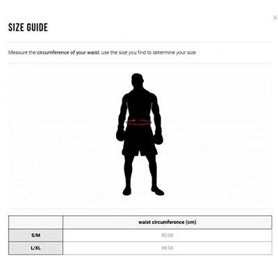 Leone 1947 Authentic Boxing Shorts Blanc