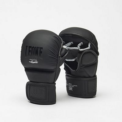 Leone 1947 Black Edition MMA Sparring Gloves Black
