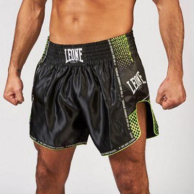 Leone 1947 Blitz Muay Thai Shorts Black