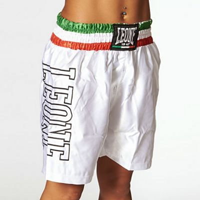 Leone 1947 Boxing Shorts Vit