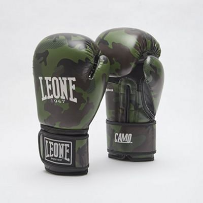 Leone 1947 Camo Boxing Gloves Green-Camo