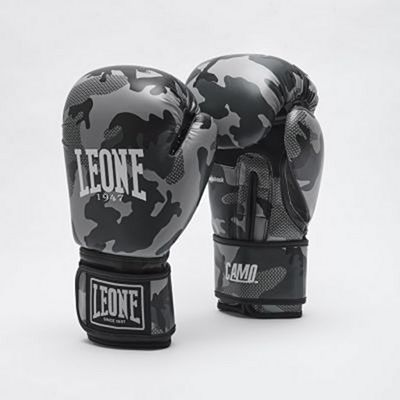 Leone 1947 Camo Boxing Gloves Grey-Camo