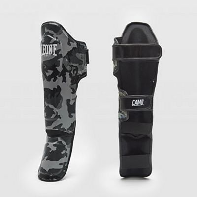 Leone 1947 Camo Shinguards Grey-Camo