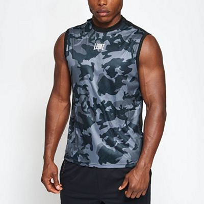Leone 1947 Camo Sleeveless Tshirt Grey-Camo