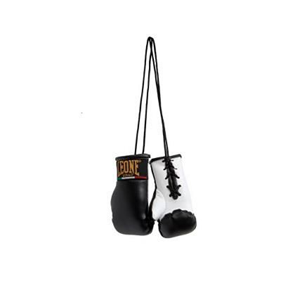 Leone 1947 Car Rear View Boxing Gloves Charm Black
