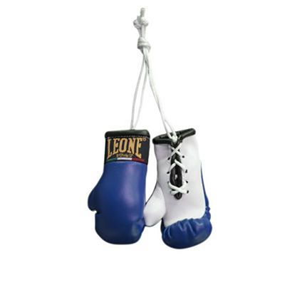 Leone 1947 Car Rear View Boxing Gloves Charm Blue