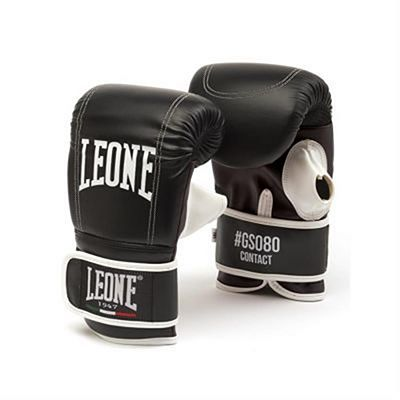 Leone 1947 Contact Gloves For Boxing Bag Black