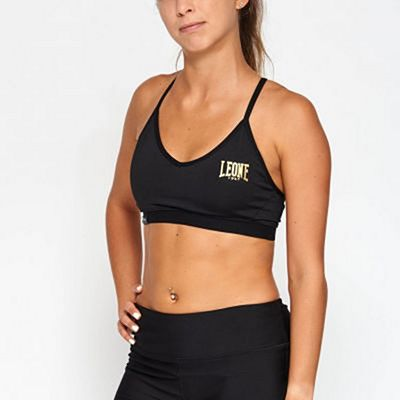 Leone 1947 Essential Sports Bra Black