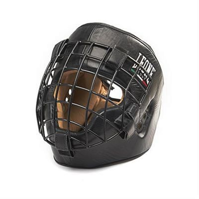 Leone 1947 Fighter Headgear Black