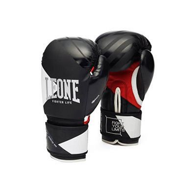 Leone 1947 Fighter Life Boxing Gloves Noir