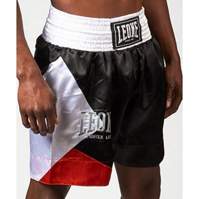 Leone 1947 Fighter Life Boxing Shorts Black