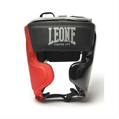 Leone 1947 Fighter Life Headgear Black-Red