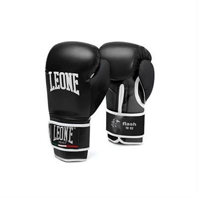 Leone 1947 Flash Boxing Gloves Black