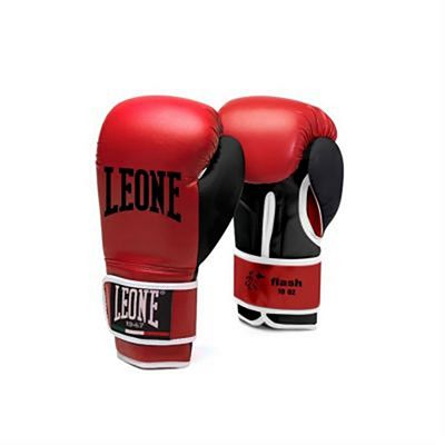 Leone 1947 Flash Boxing Gloves Red