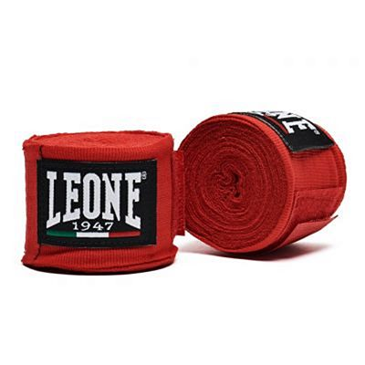 Leone 1947 Hand Wraps 3.5m Red