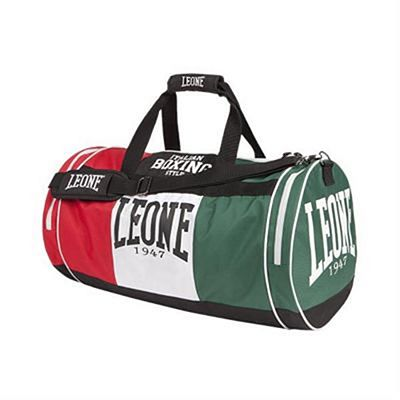 Leone 1947 Italy Gym Bag 45L Red-Green