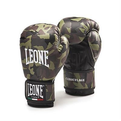 Leone 1947 Ladies Camouflage Army Boxing Gloves Grün