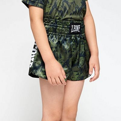 Leone 1947 Leo Camo Jr Thai Shorts Green-Camo