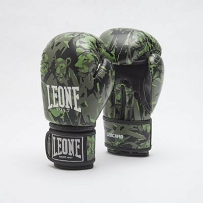 Leone 1947 Leocamo Boxing Gloves Green-Camo