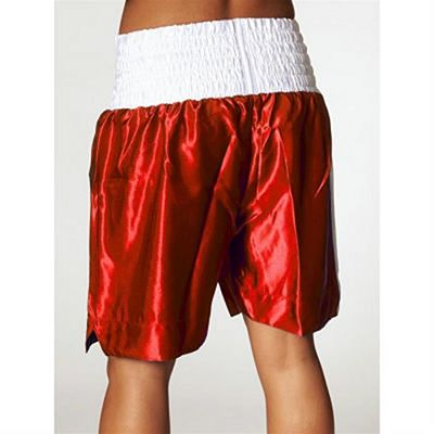 Leone 1947 Linear Boxing Shorts Red-White