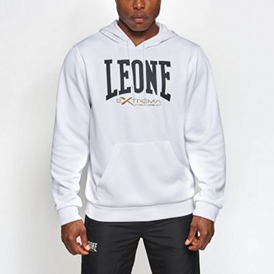 Leone 1947 Logo Hooded Sweatshirt White