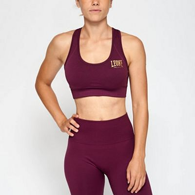 Leone 1947 Logo Sports Bra Purple