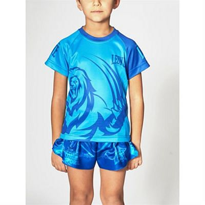 Leone 1947 Mascot Kids T-shirt Blue
