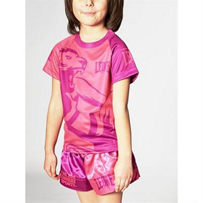 Leone 1947 Mascot Kids T-shirt Rose