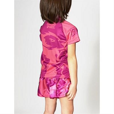Leone 1947 Mascot Kids T-shirt Pink