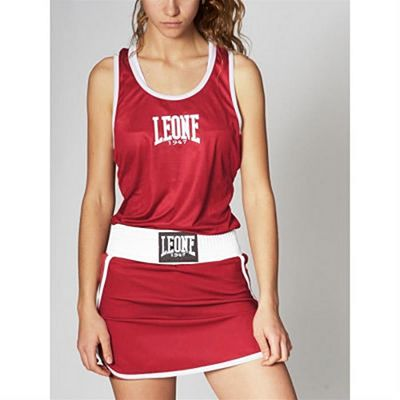 Leone 1947 Match Woman Boxing Singlet Rot