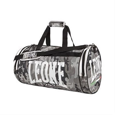 Leone 1947 Mimetic Sporting Bag 45L Grau-Camo