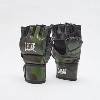 Leone 1947 MMA Gloves Camo Green-Camo