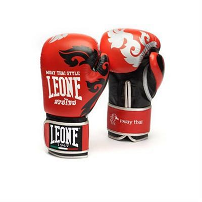 Leone 1947 Muay Thai Boxing Gloves Red