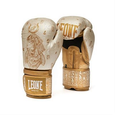 Leone 1947 Nefertiti Boxing Gloves Weiß-Gold