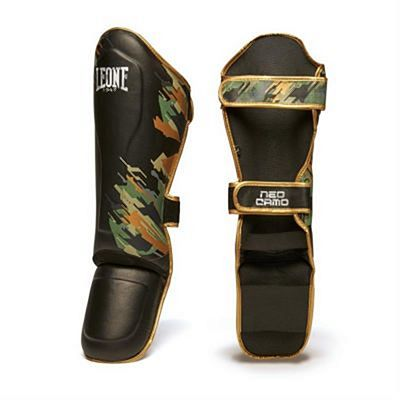 Leone 1947 Neo Camo Shinguards Black-Green