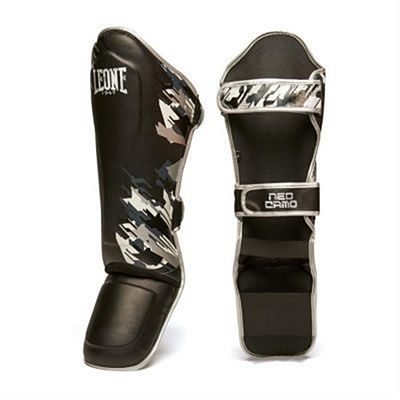 Leone 1947 Neo Camo Shinguards Black-Grey