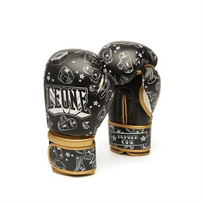 Leone 1947 Number One Kids Boxing Gloves Schwarz