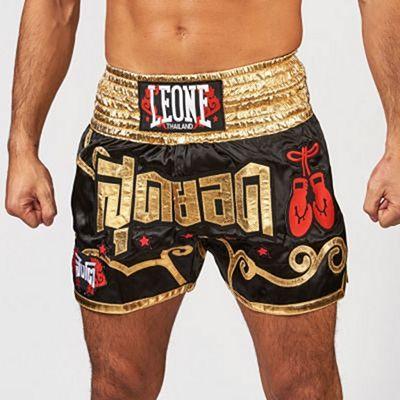 Leone 1947 Phuket Muay Thai Shorts Svart